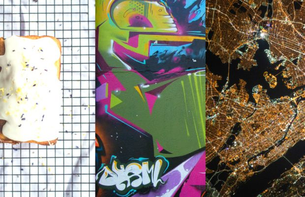 Picture-Inspired Fashion: Pastry, Graffiti, and Urban Landscape