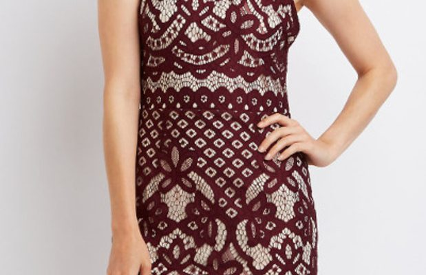 Fabulous Find of the Week: Charlotte Russe Lace Open-Back Dress
