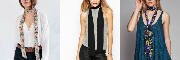 Class to Night Out: Skinny Scarf