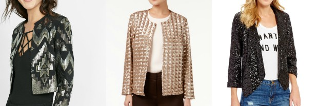 Class to Night Out: Sequin Blazer for NYE