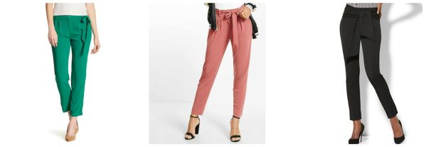 Class to Night Out: Tie Pants