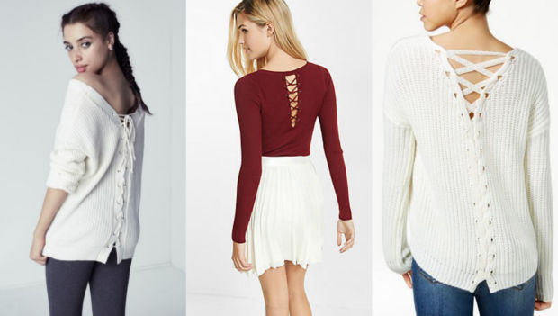Would You Wear… a Lace-Up Back Top?
