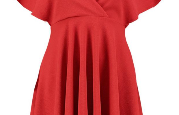 Fabulous Find of the Week: Boohoo Wrap Skater Dress