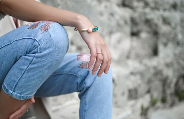 3 Spring-Ready Ways to Wear Embroidered Jeans