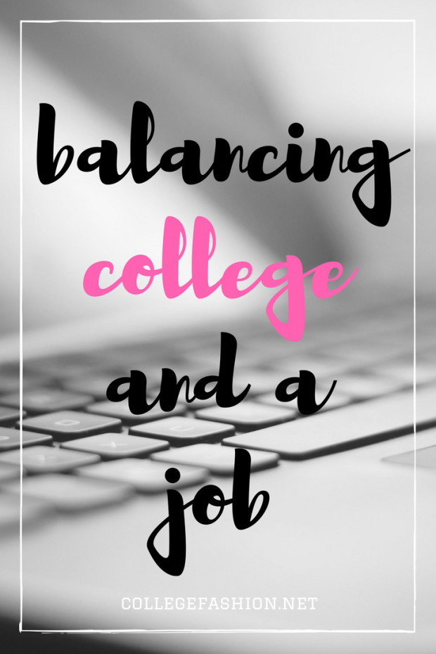 4 Essential Rules for Balancing College and a Part-Time Job