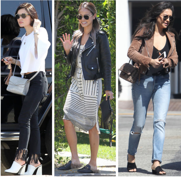 Celebrity Street Style of the Week: Lucy Hale, Jamie Chung, & Shay Mitchell