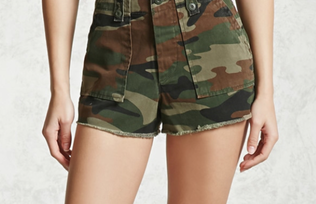 Fabulous Find of the Week: Forever 21 Camo Shorts
