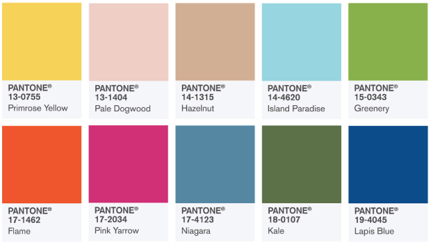 Looks Inspired by Pantone's Spring 2017 Fashion Color Report