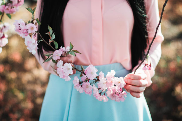 Outfits Under $100: Spring Pastels