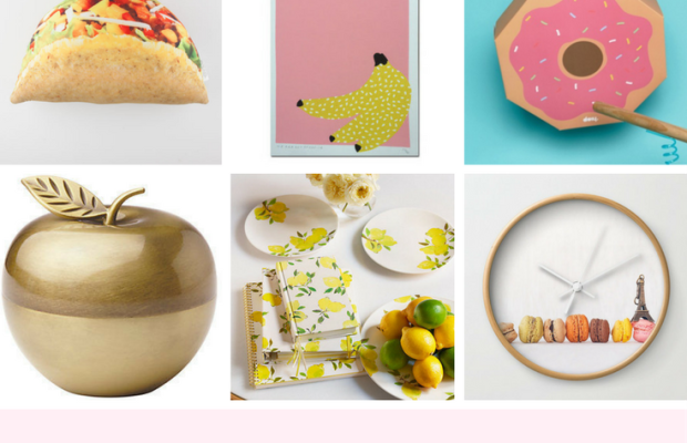 9 Food-Inspired Decorations That Will Make You Hungry for More