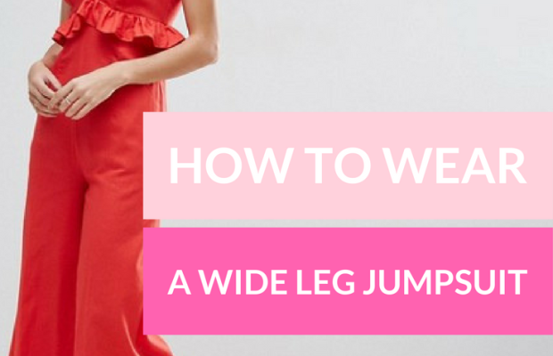 How to Wear a Wide-Leg Jumpsuit
