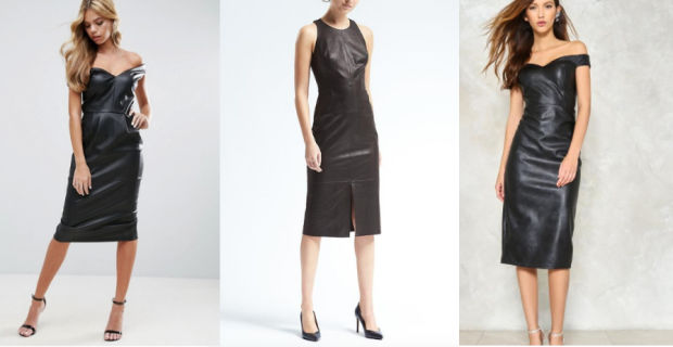 Would You Wear… a Leather Midi Dress?