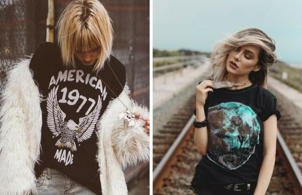 Here's Exactly How to Rock a Vintage Tee