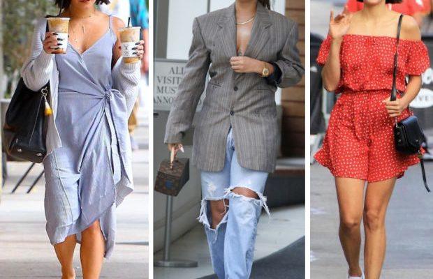 Celebrity Street Style of the Week: Vanessa Hudgens, Rihanna, & Nina Dobrev