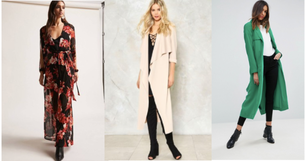 Class to Night Out: Duster Coat