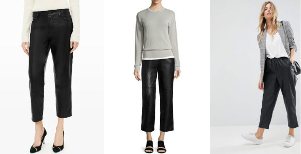 Would You Wear… Relaxed (faux) Leather Pants?
