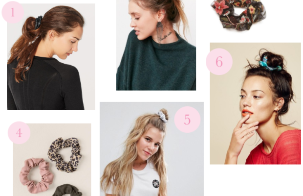 You Guys, Scrunchies Are Making a Comeback (And We're Kind of Into It)