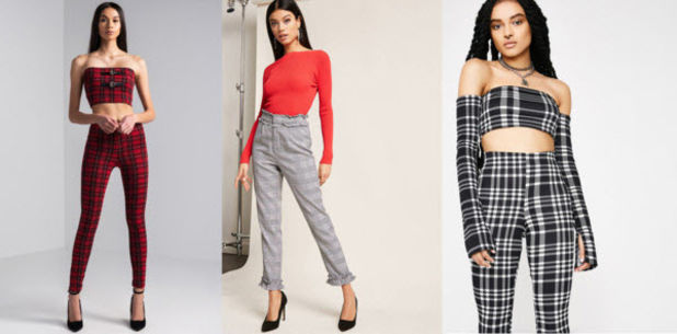 Class to Night Out: Plaid Pants