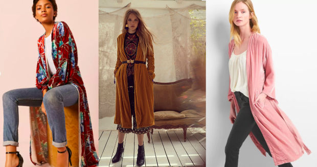 Would You Wear… a Velvet Duster?