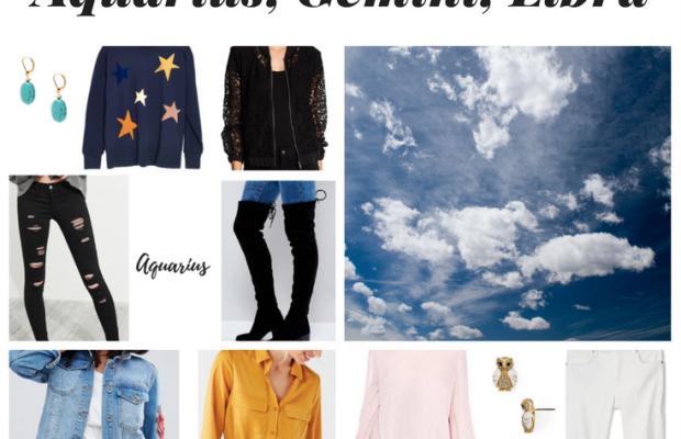 Zodiac Style: Air Signs – Aquarius, Gemini & Libra [Updated 2018]