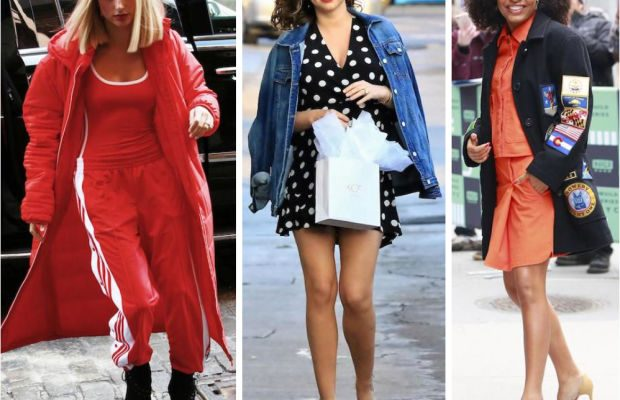 Celebrity Street Style of the Week: Hailey Baldwin, Miranda Kerr, & Yara Shahidi
