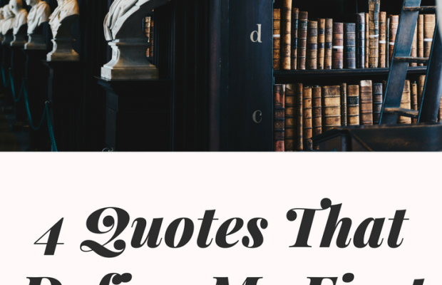 4 Quotes That Define My First Year of College