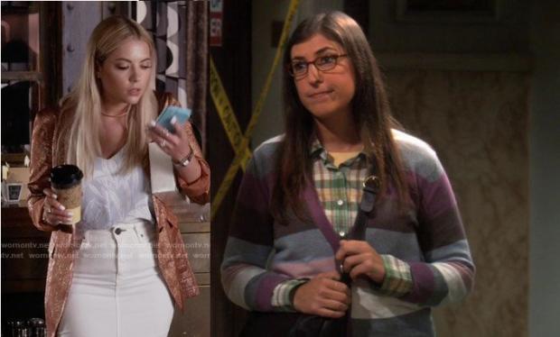 Weekly Crossover: Hanna Marin x Amy Farrah Fowler