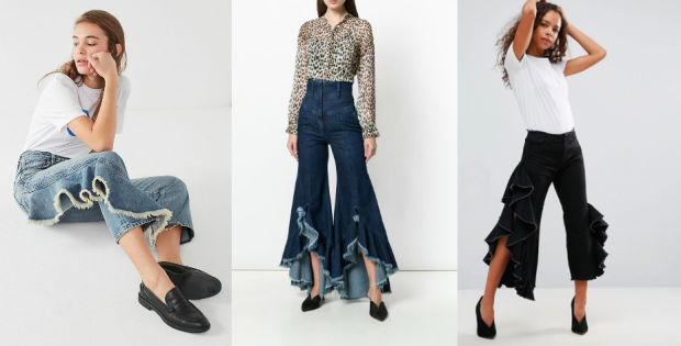 Would You Wear… Ruffled Jeans?