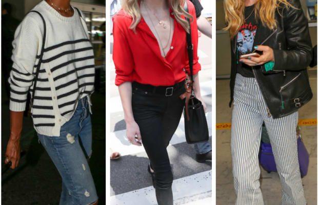 Celebrity Street Style of the Week: Jasmine Tookes, Amber Heard, & Georgia May Jagger