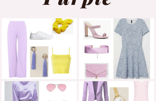 How to Wear Melodramatic Purple