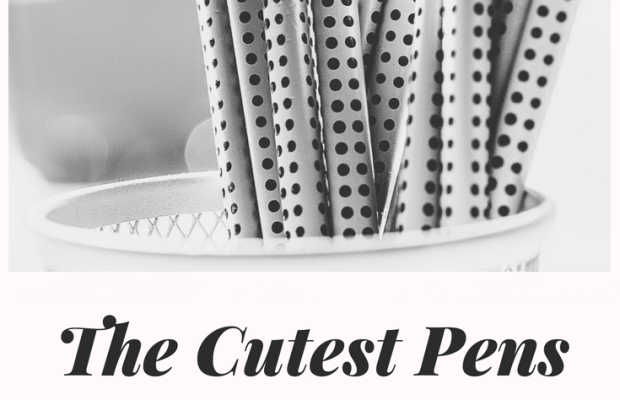 20 Cute Pens and Pencils for College