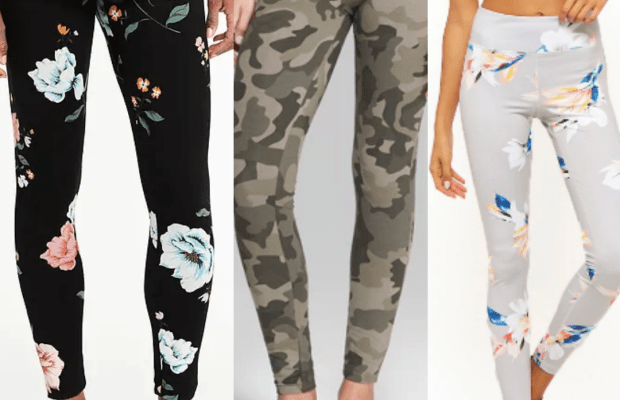 Class to Night Out: Patterned Leggings