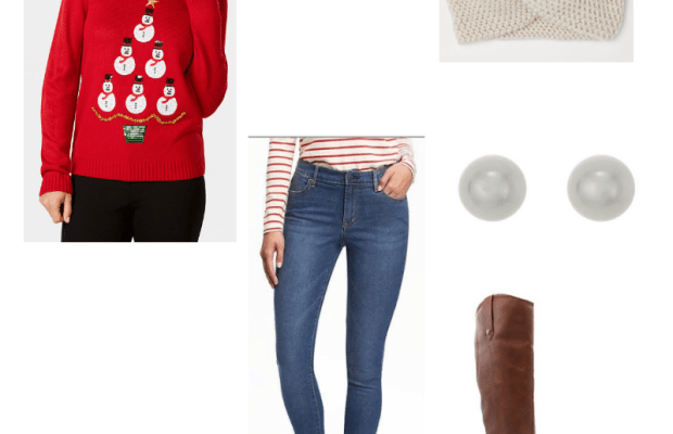 Cute Ugly Christmas Sweater Outfits